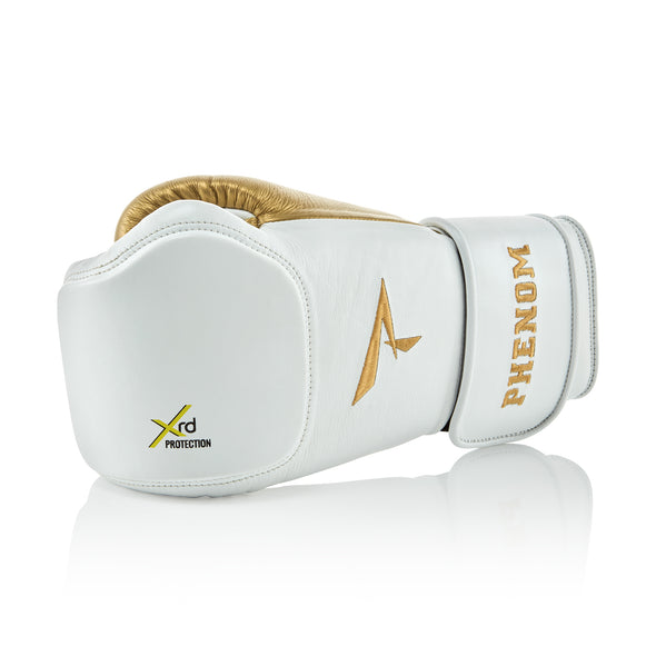 XRT-220S Bag Gloves - White/Gold - Punch Surface