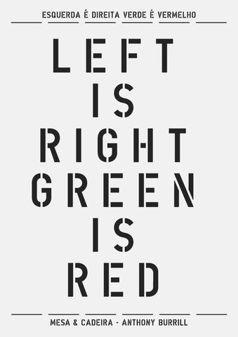 Left Is Right Green Is Red
