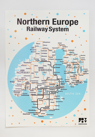 Northern Europe Railway system