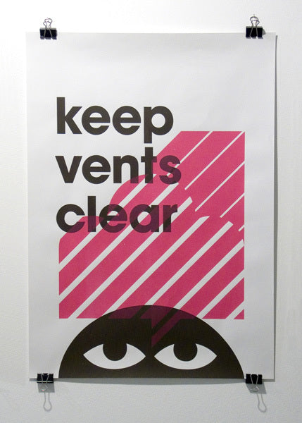Keep Vents Clear