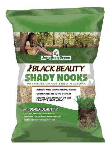 Jonathan Green Black Beauty Shady Nooks Grass Seed