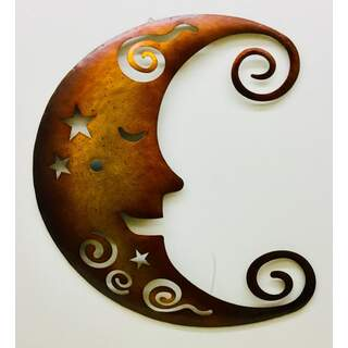 Gold Moon Wall Decor