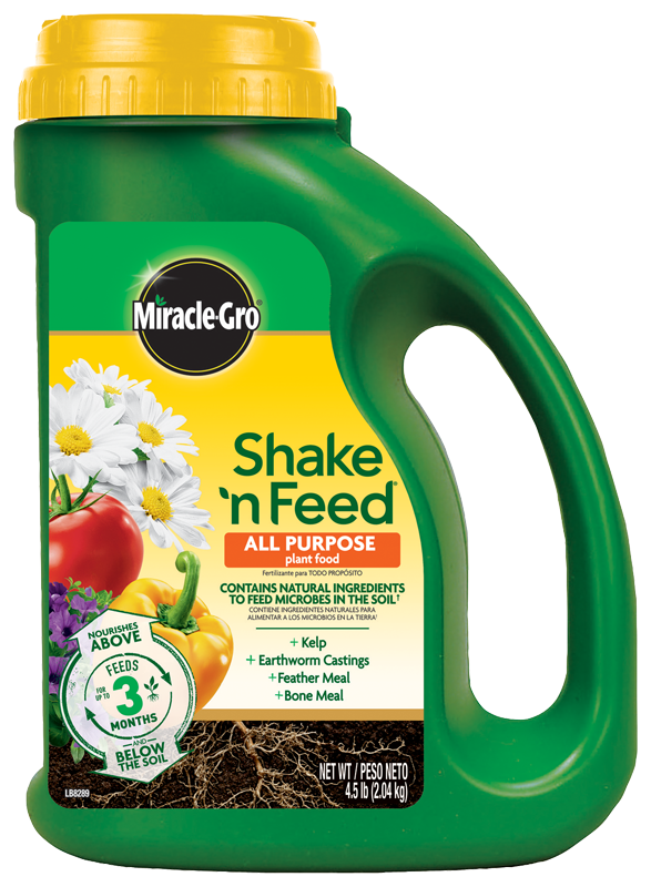 Miracle Gro Shake and Feed