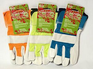 Pigskin Palm Gardening Gloves