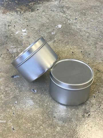 8oz Metal Tin