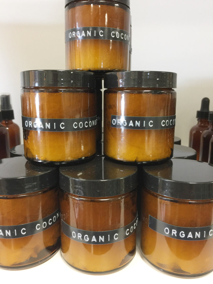Organic Coconut Oil 4 oz jar