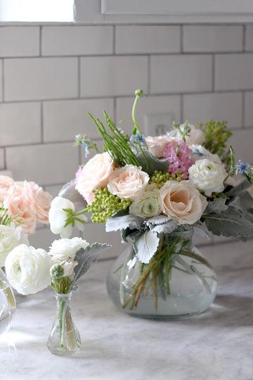 Flower Arranging with Huckleberry Collective