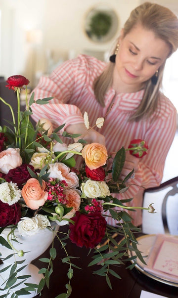 Galentines - Flower Arranging with Huckleberry Collective