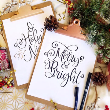 Hand Lettering: Holiday Edition