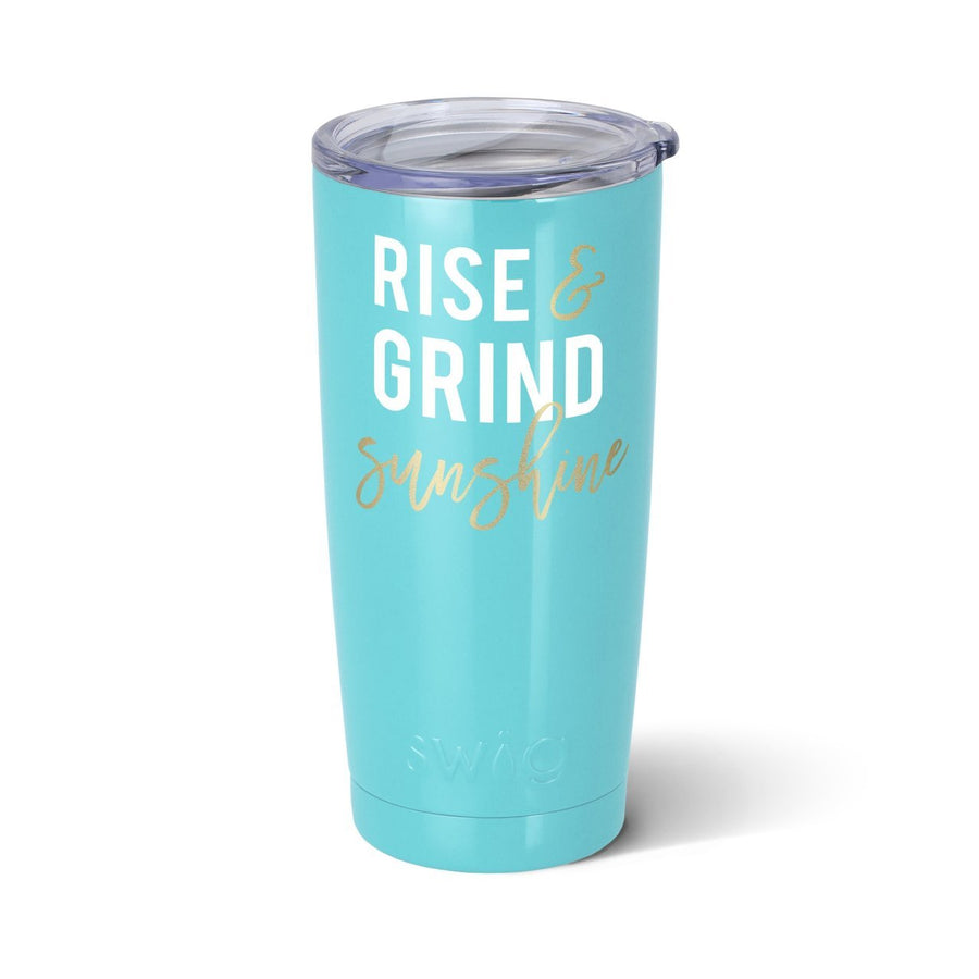 Rise and Grind Sunshine Tumbler