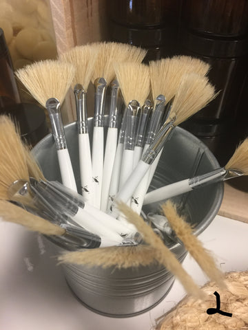 White Mask Brushes