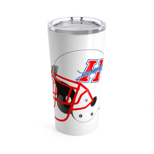 HERITAGE FOOTBALL HELMET Tumbler 20oz