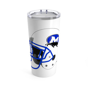 MIDLOTHIAN PANTHERS FOOTBALL HELMET Tumbler 20oz