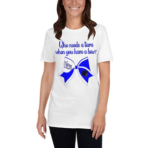 CHEER BOW PANTHERS Short-Sleeve Unisex T-Shirt