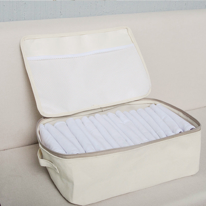 Large Capacity Three Sizes Zipper Casual Storage Bags