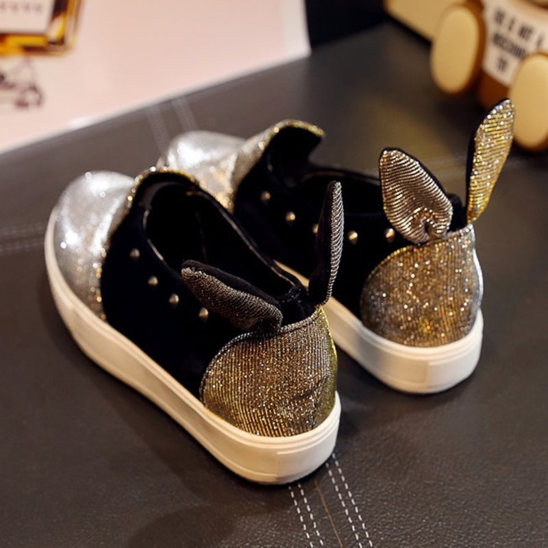 Women Fabric Loafers Casual Rivet Fashion Shoes