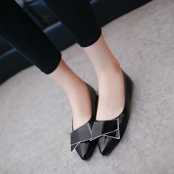 Butterfly Breathable Slip-On Soft Dress Flats