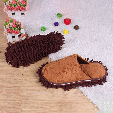 Flat Heel Daily Artificial Suede Color Block Fall Slipper