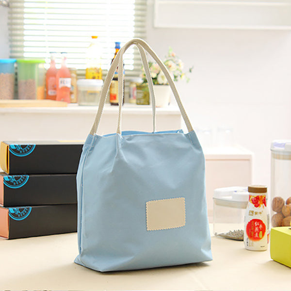 Casual Zipper Oxford Handbag