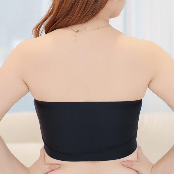 Wireless Strapless Seamless Privacy Protected Bras
