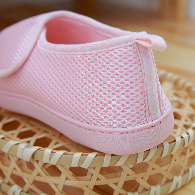 Casual Cotton Magic Tape Daily Breathable Shoes