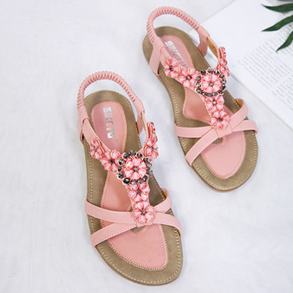 Bohemia Casual Sparkling Glitter Summer Sandals