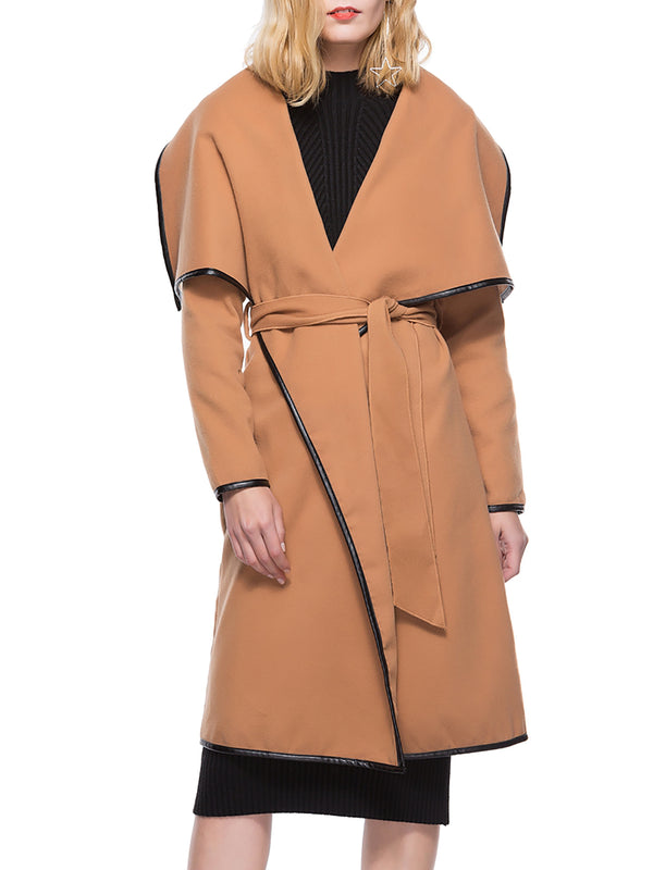 Cotton Long Sleeve Casual coats