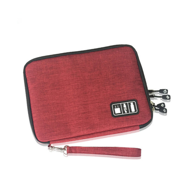 Large Capacity Casual Zipper Phone Accessories Bags