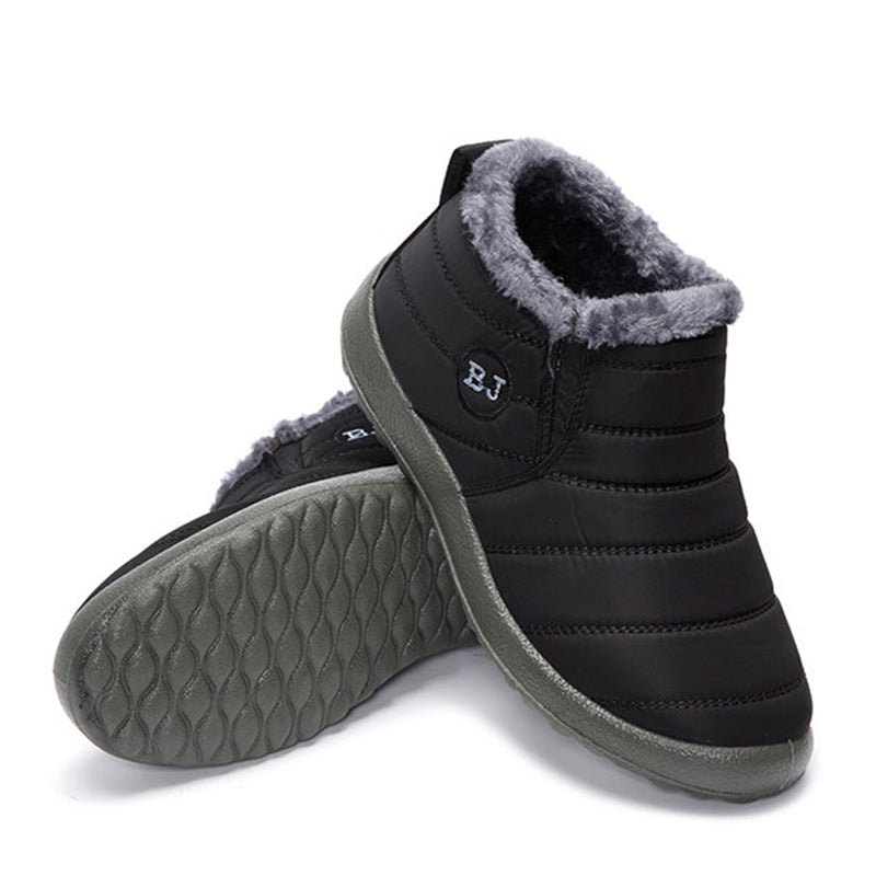 Women's Warm Fleece-lined Ankle Soft Snow Boots