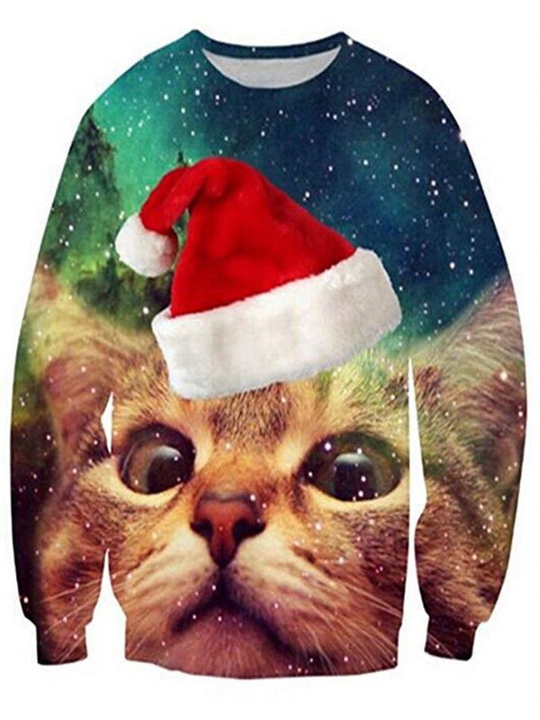 Christmas Pullover 3D Digital Printed Sweatshirts