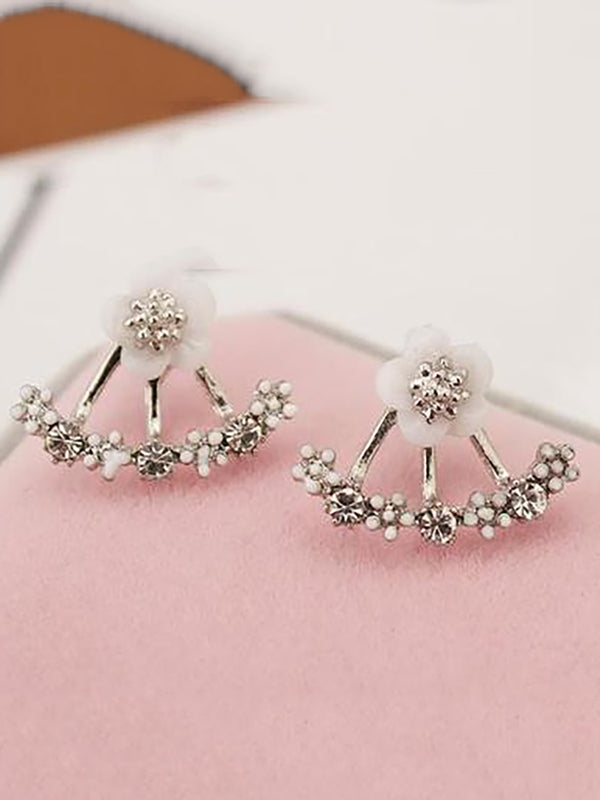 Girls Daisy Flower Earings