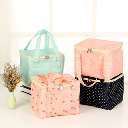 Large Capacity Casual Oxford Zipper Outdoor Picnic Storage Bags