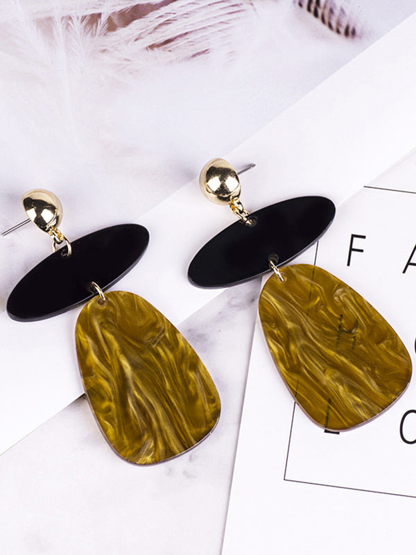 Women Statement Alloy Earring