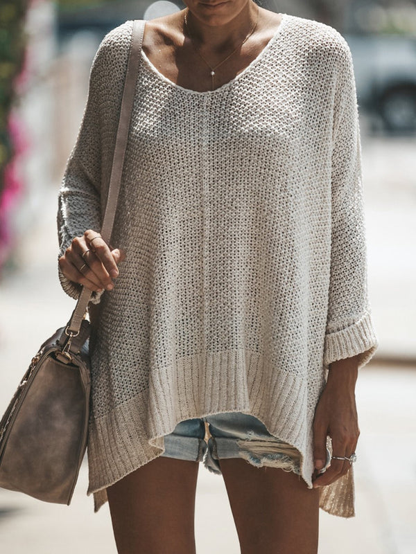 Cozy Solid Color Sweater