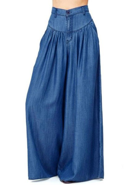 Cozy Pockets Wide Leg Pants