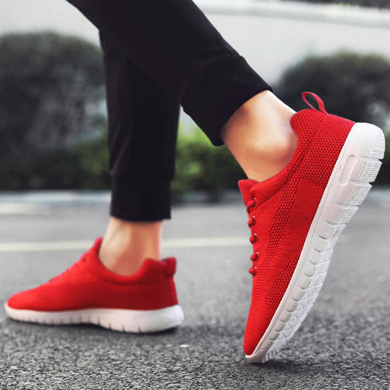 Women Mesh Fabric Sneakers Casual Super Plus Size Shoes
