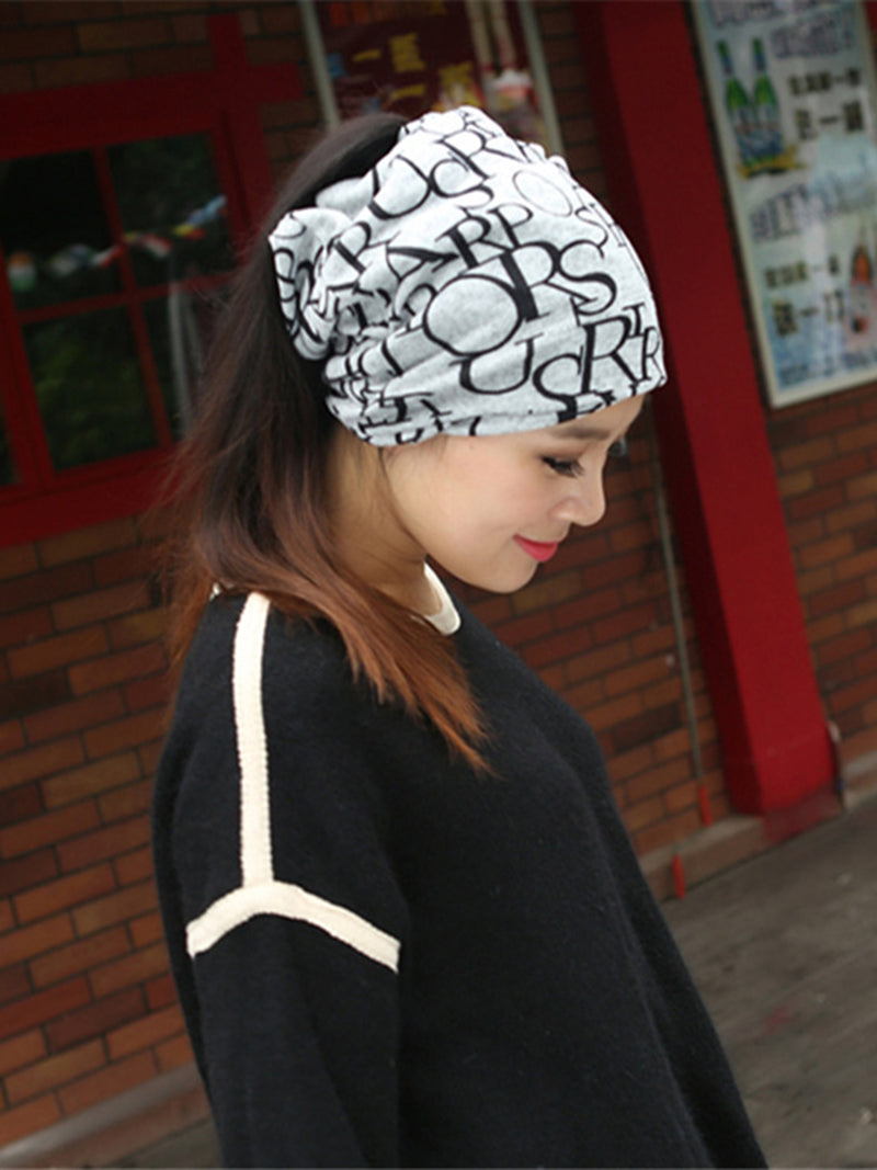 Letter Print Statment Hat