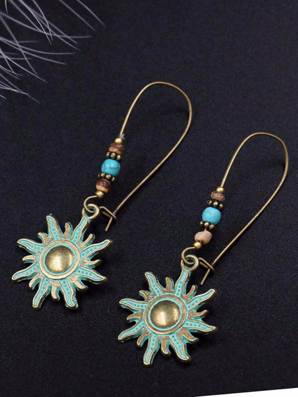 Bohemian Vintage Charm Earrings Fashion Retro Personalized Party Accessories Earrings