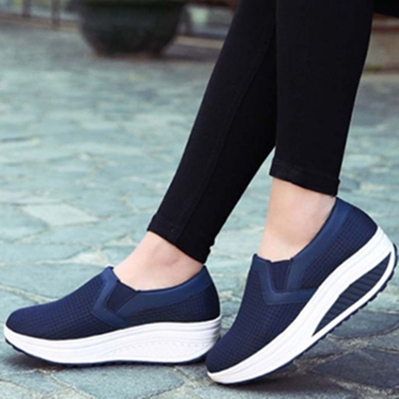 Casual Wedge Heel Summer Mesh Casual Sneakers
