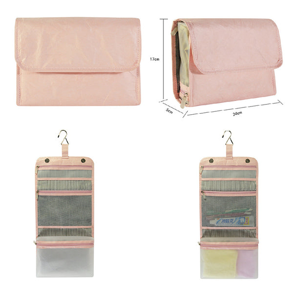 OEM Paper Casual Foldable Travel Washing Bags