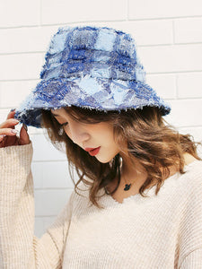 Casual Checkered Hat
