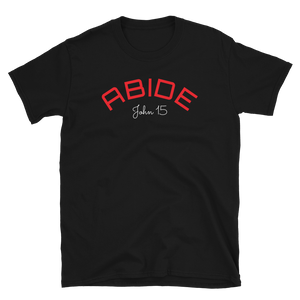 The ABIDE Unisex Tee (Black and Navy Color Options)