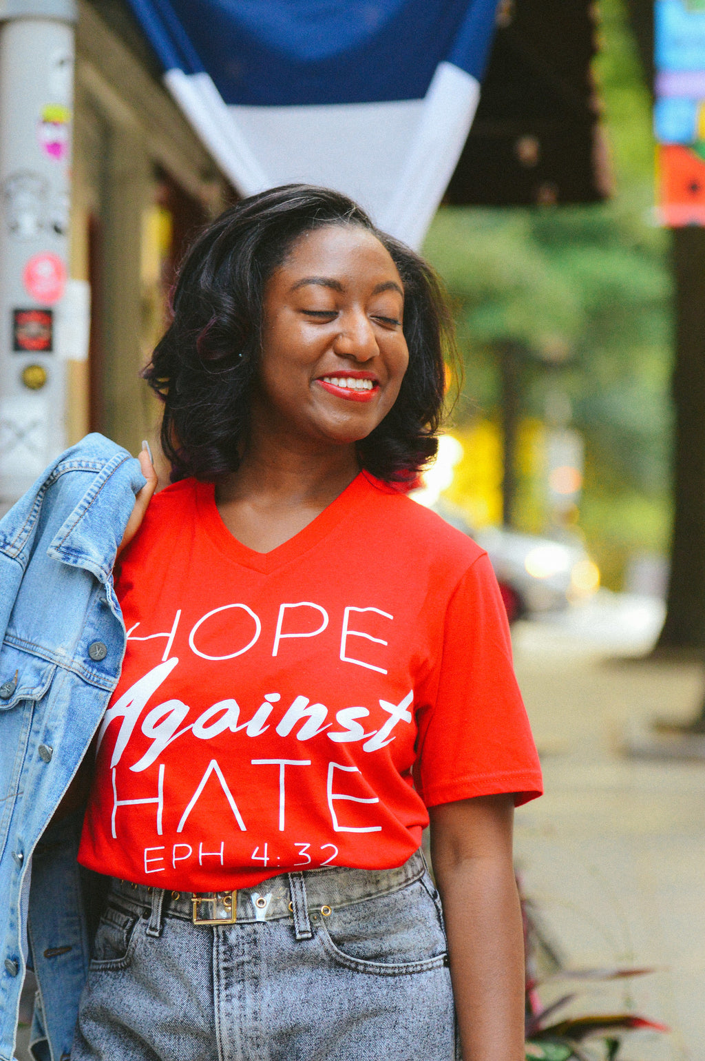 Hope Against Hate Unisex Tee (Crew and V Neck) *Multiple Color Options*