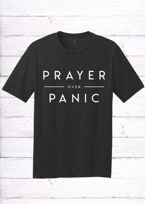 Prayer Over Panic Unisex Tee
