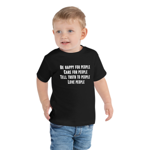 Toddler Love People Tee