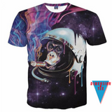 Ape the Space Sailor. A 3D t-shirt from Dimension Tee