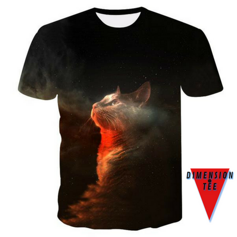 The Dreamer. A 3D t-shirt from Dimension Tee.