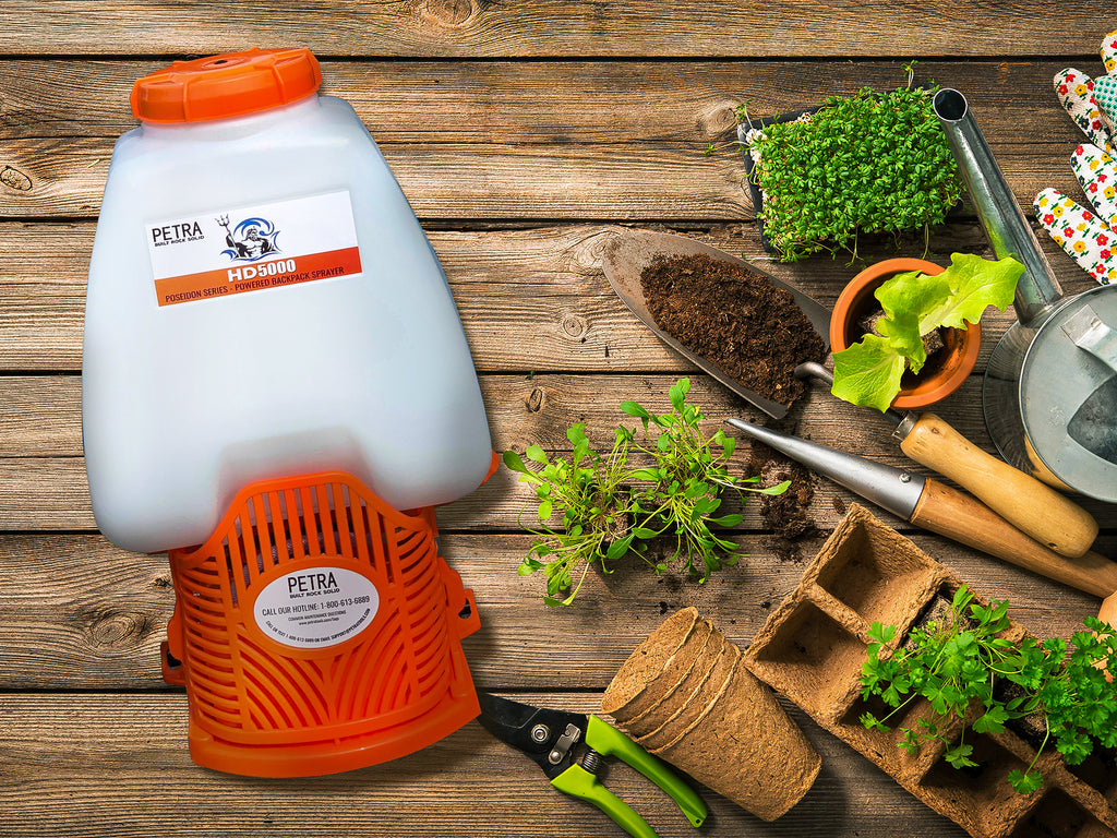 Choosing the right backpack sprayer helps improve your garden experience.