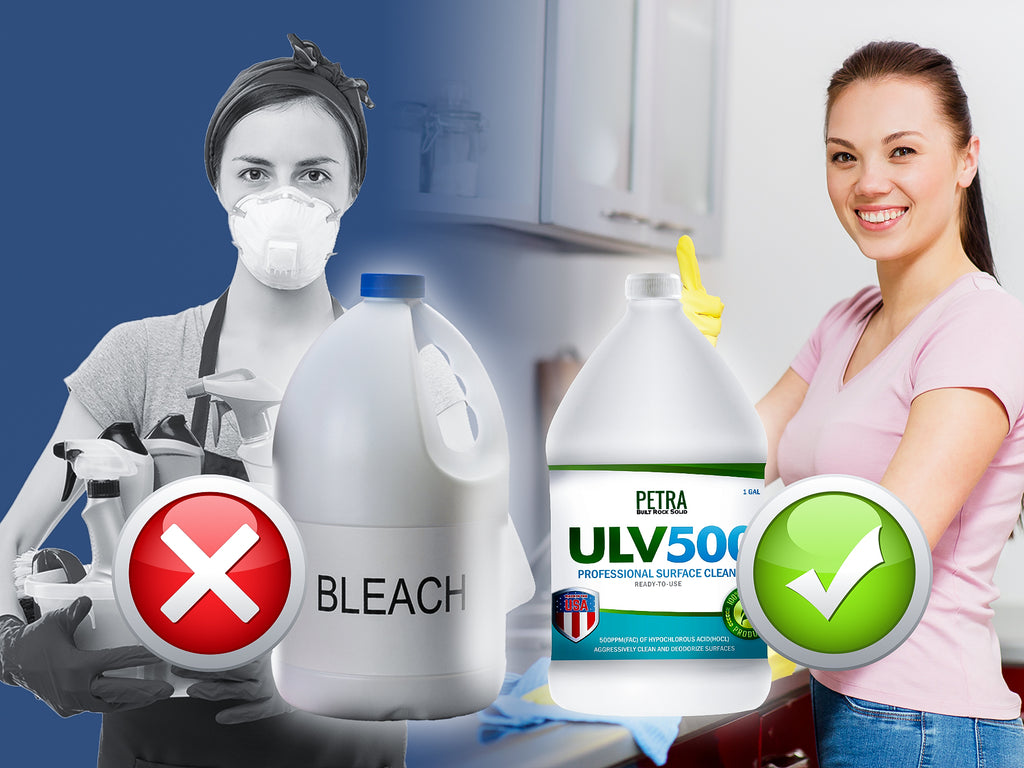 Disinfect your home with Petra ULV500 hypochlorous acid