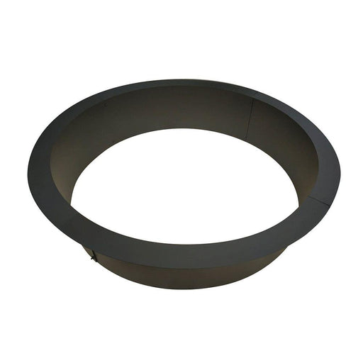 Heavy Duty 2mm Thick Steel Campfire Ring Above or In-ground